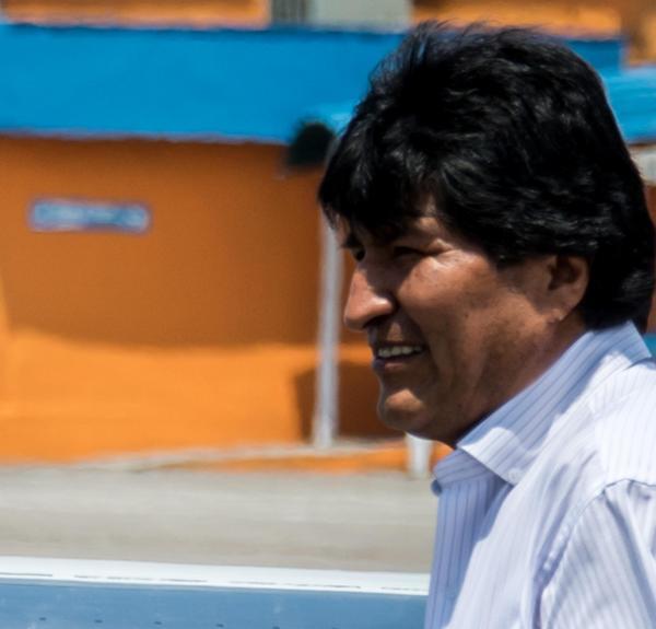 Evo Morales conclñuyó este sábado su estancia en Cuba tras dos días de visita oficial. (Foto ACN)