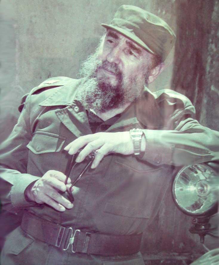 Fidel en Sancti Spíritus. 26 de julio de 1986