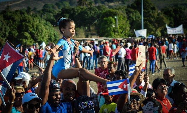 Sancti spiritus, primero de mayo, Fidel castro, 90 cumpleaños de Fidel castro, dia internacional de los trabajadores