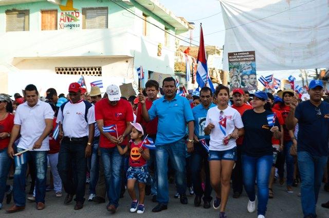 sancti spiritus, trinidad, primero de mayo, dia internacional de los trabajadores, ctc, 90 cumpleaños de fidel castro