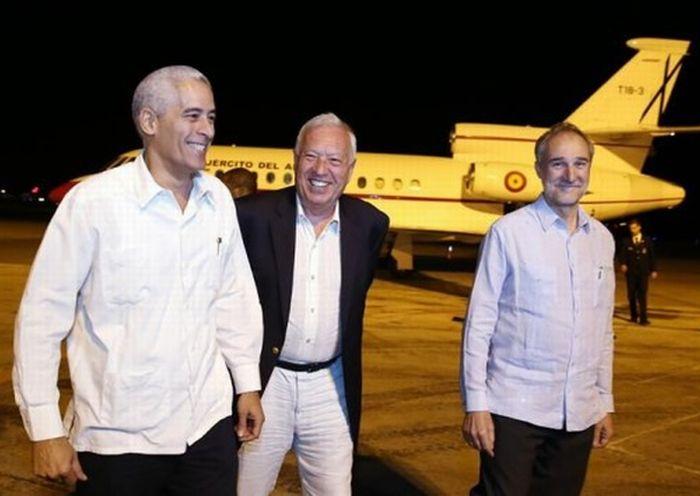 cuba, españa, ministro de asuntos exteriores de españa, jose manuel garcia-margalo