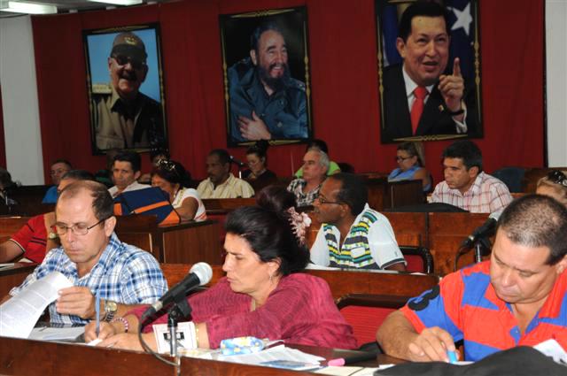 El Pleno abordó el tema de las inversiones en el turismo.