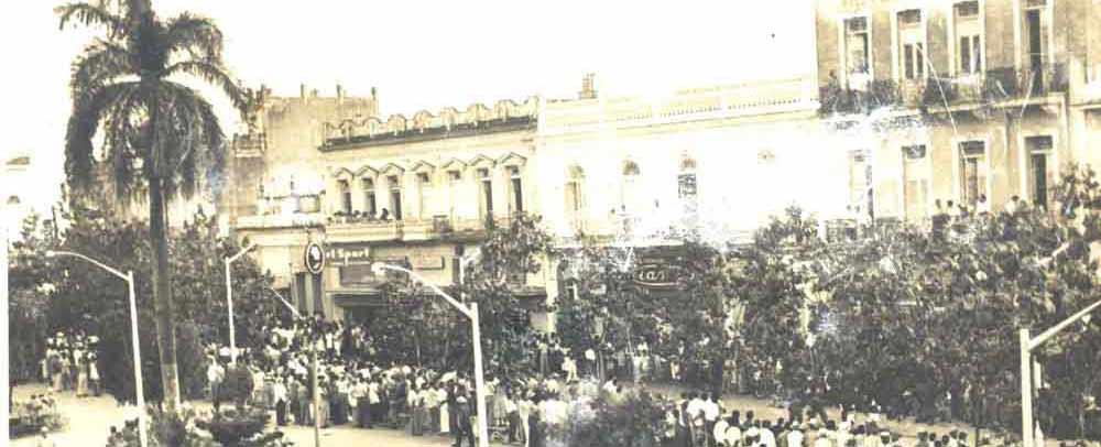 """Discurso pronunciado desde el Balcón de la Sociedad """"El Progreso"""", de Sancti Spíritus, Las Villas"""