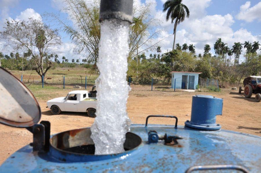 sancti spiritus, fomento, sequia, abasto de agua, recursos hidraulicos