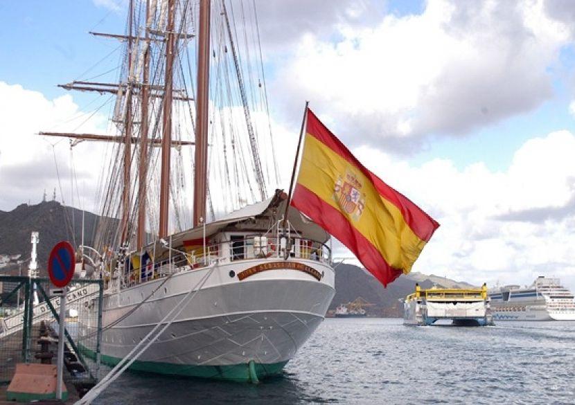 cuba, españa, buque escuela de la armada española