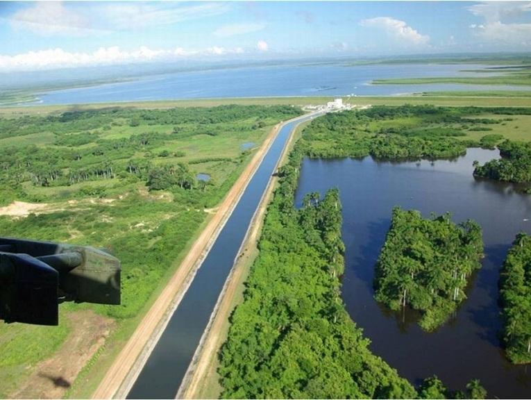 La reparación del canal magistral de la presa Zaza figura entre las inversiones realizadas en el área hidráulica.