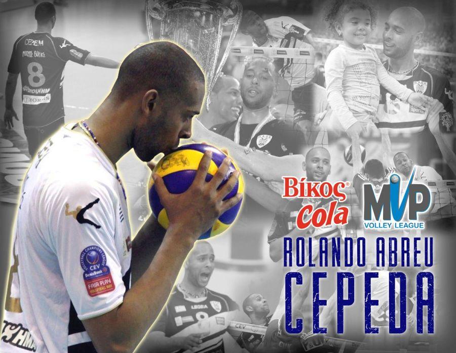 sancti spiritus, rolando cepeda, liga griega de voleibol