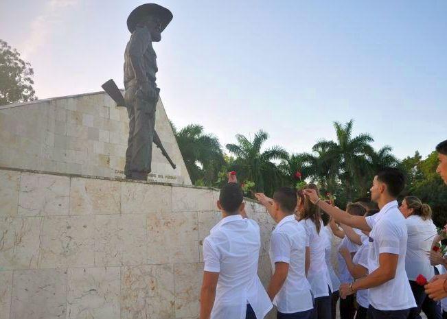 sancti spiritus, brigada de solidaridad con cuba, primero de mayo, icap