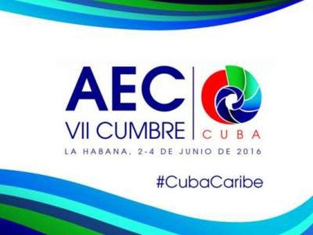 cuba, aec, asociacion de estados del caribe, VII cumbre aec
