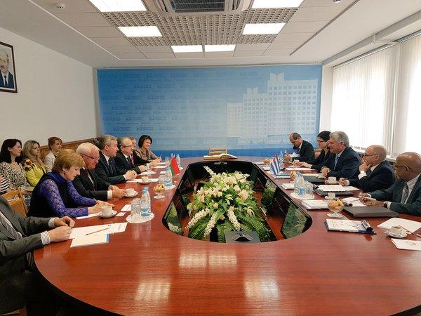 cuba, belarus, miguel diaz-canel, primer vicepresidente cubano