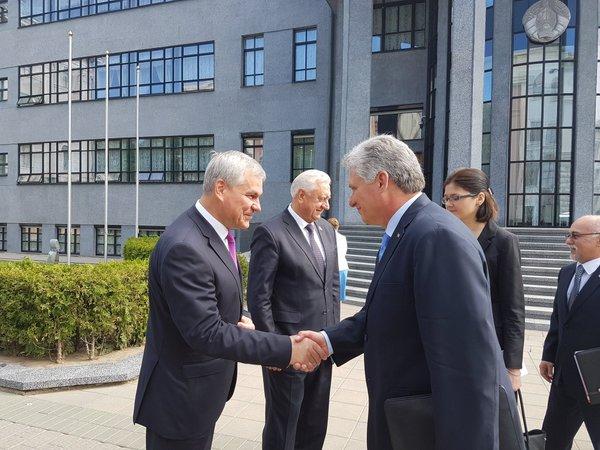 cuba, belarus, miguel díaz-canel, primer vicepresidente cubano