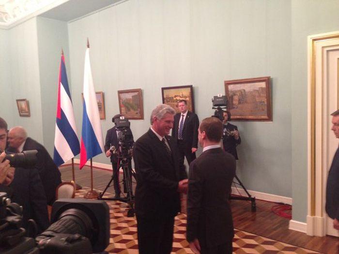cuba, rusia, miguel diaz-canel, primer vicepresidente cubano