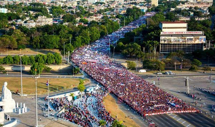 Cuba, primero de mayo, raul castro, la habana, Fidel castro, dia internacional de los trabajadores, 90 cumpleaños de Fidel castro