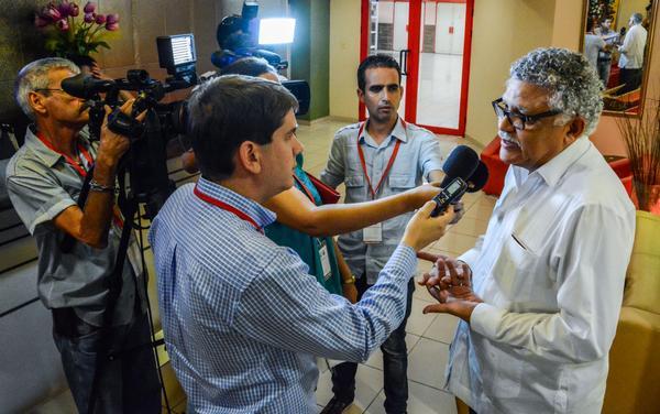 La Cumbre en La Habana es un momento propicio para subrayar el papel de la región como zona de paz, declaró Múnera a la prensa. (Foto ACN)