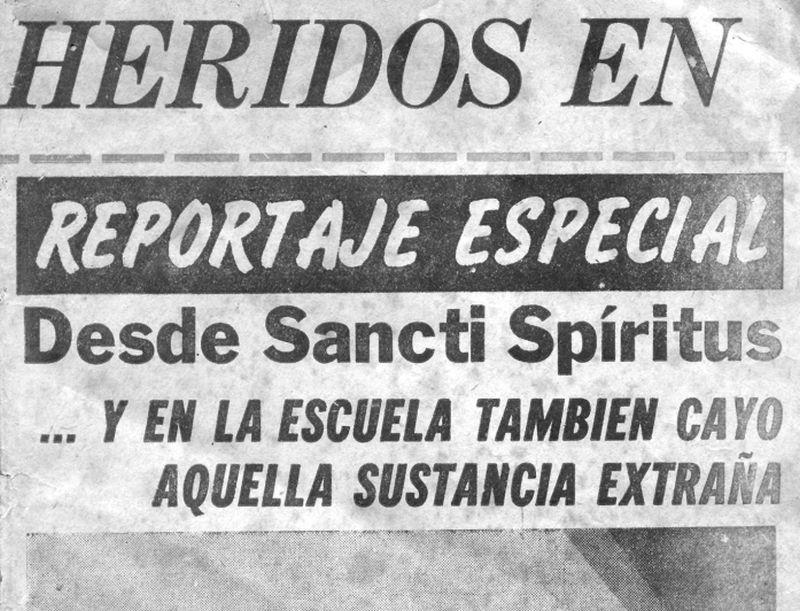 sancti spiritus, cuba, agresion biologica, cuba-estados unidos, bloqueo de eeuu contra cuba