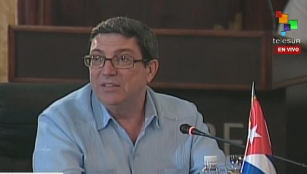 El canciller cubano aseguró que nuestros pueblos resistirán la acometida contra nuestra cultura, evitarán la destrucción de la memoria. (Foto: teleSUR)