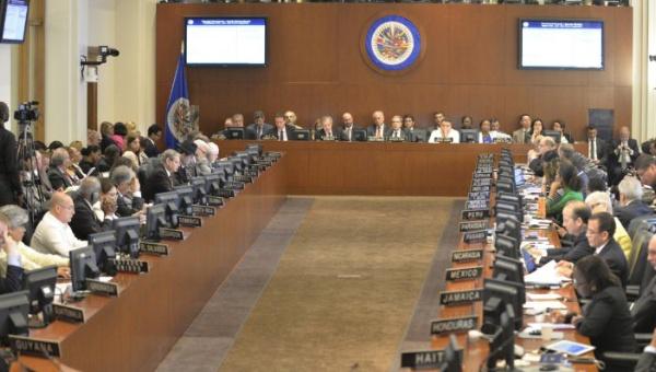 Las delegaciones se pronunciaron mayoritariamente a favor del diálogo en Venezuela. (Foto: AVN)