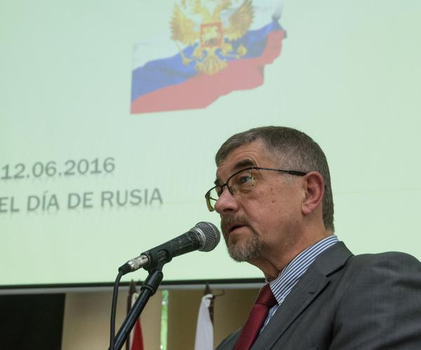 Mijail L. Kamynin, embajador de Rusia en Cuba. (Foto: ACN)