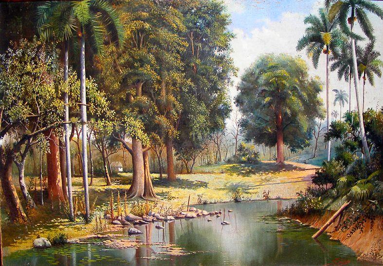 Aunque Tobeñas cultivase también el retrato y los bodegones, su obra se consolidaría como la del paisajista rural por excelencia.