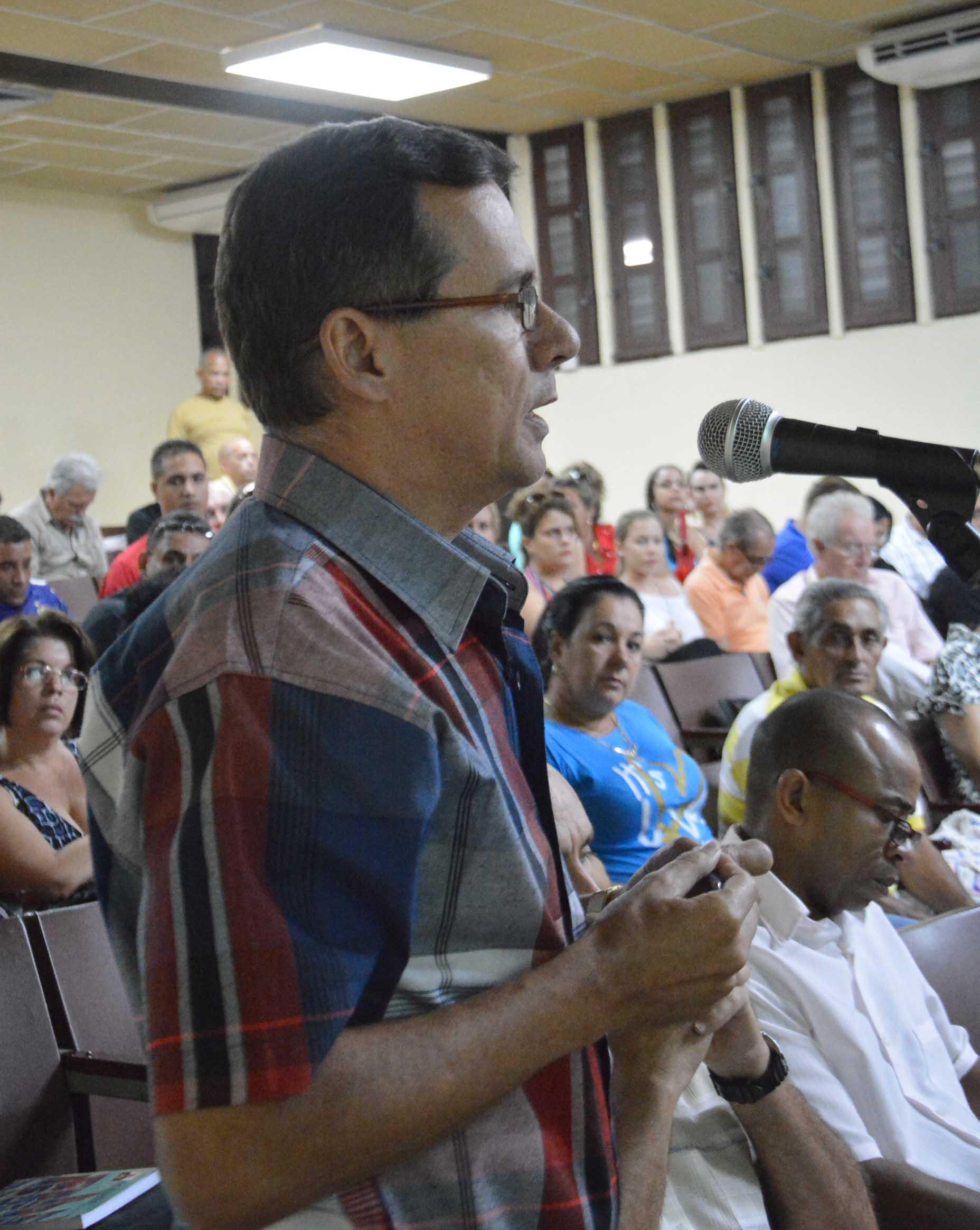 En la Asamblea se reconoció que los espirituanos se han ganado un lugar destacado en el sector a nivel de país.