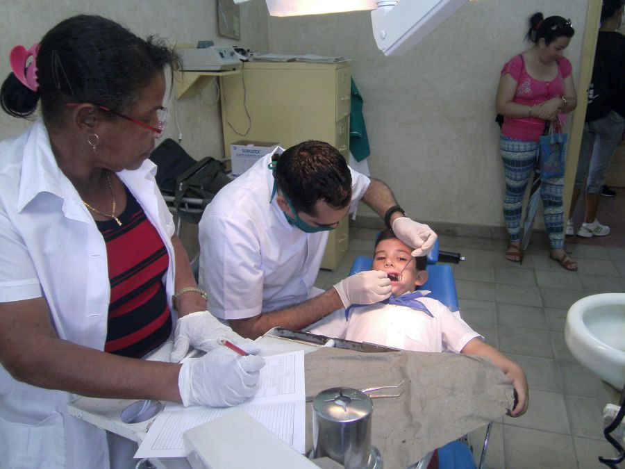 sancti spiritus, el pedrero, fomento, estomatologia, consultorio del medico de la familia, plan turquino, salud publica