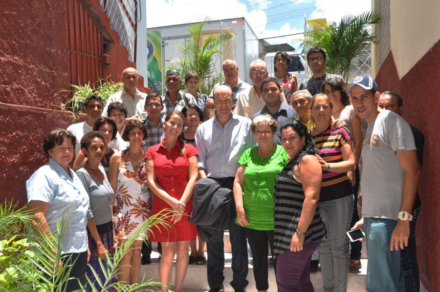 cuba, sancti spiritus, embajador del reino unido en cuba, reino unido, periodico escambray, prensa, periodistas