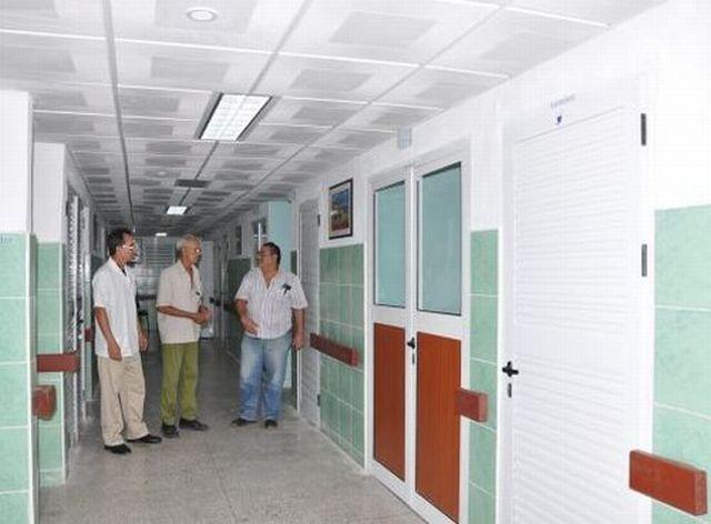 sancti spiritus, salud publica, hospital provincial camilo cienfuegos, construcciones