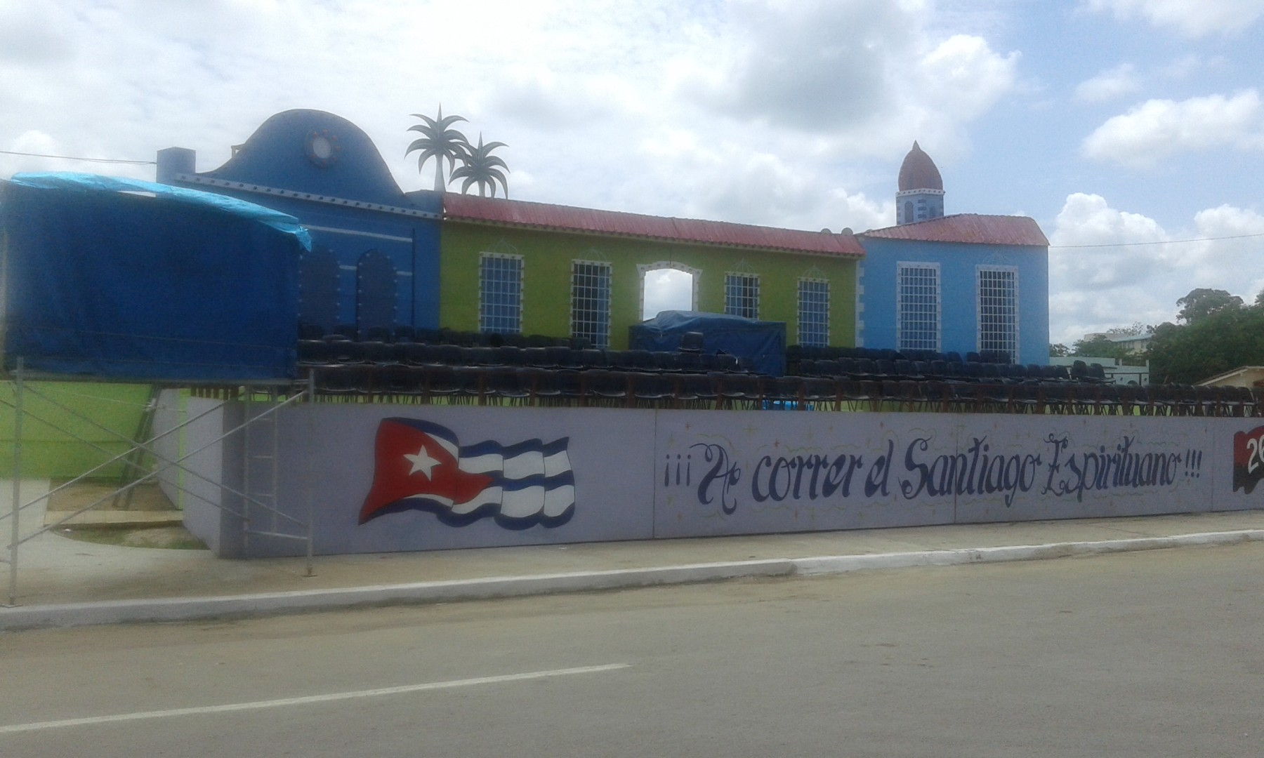 Sancti Spíritus, Sancti Spíritus en 26, Santiago Espirituano, Cuba, carnavales