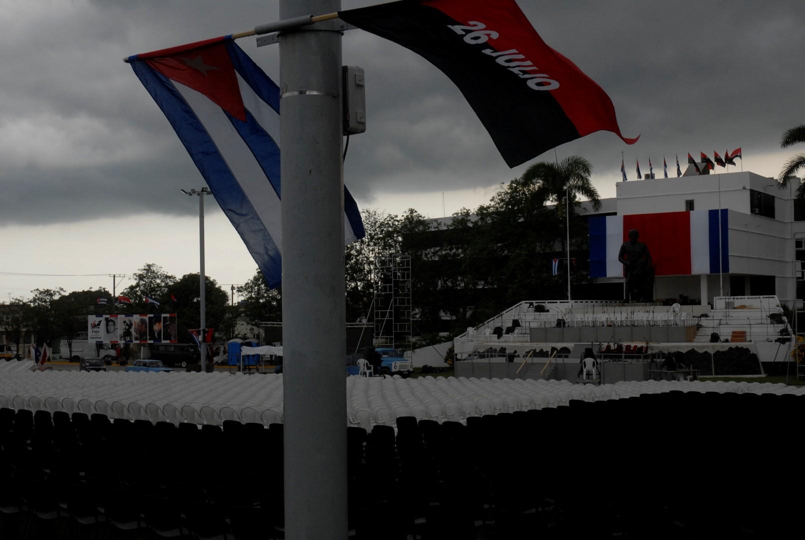 Serafín Sánchez, Plaza de la Revolución, Sancti Spíritus, 26 de Julio, Moncada