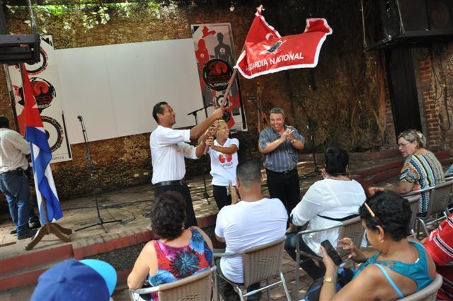 La Casa de la Música de Trinidad también figuró entre los colectivos distinguidos con la condición de Vanguardia Nacional. (Foto: Vicente Brito / Escambray)