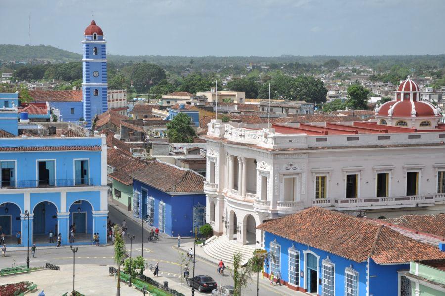 sancti spiritus en 26, obras sociales, ganaderia, plaza cultural, produccion de alimentos