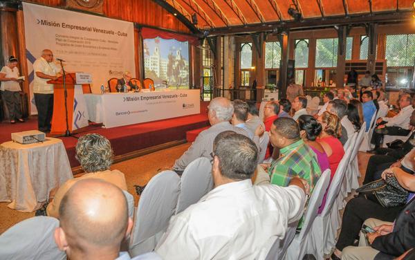 Foro Empresarial de Negocios Cuba-Venzuela. (Foto: ACN)