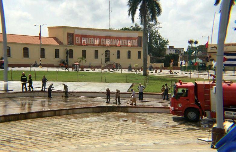 sancti spiritus en 26, plaza mayor general serafin sanchez valdivia, 26 de julio