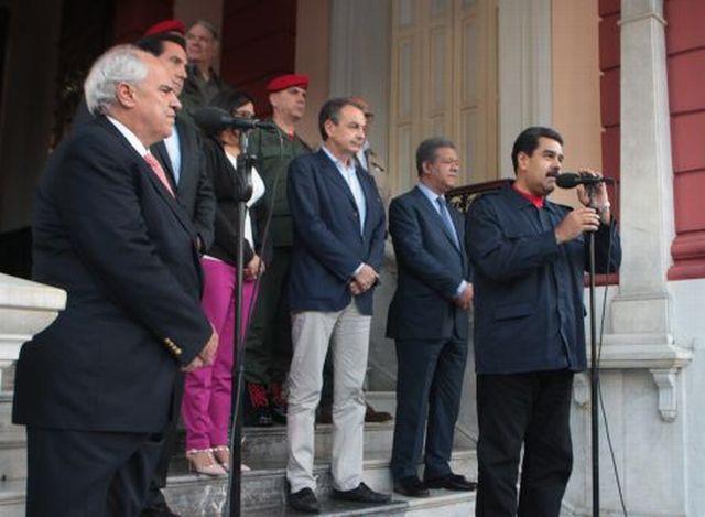 """""""Nuestra meta es ganar la paz"""", expresó Maduro. (Foto AVN)"""