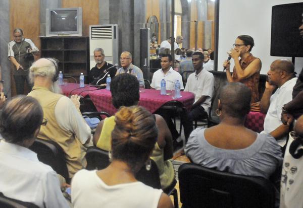 Encuentro de Pastores por la Paz con Médicos cubanos que combatieron el Ébola. (Foto: ACN)