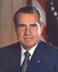 Richard Nixon. Expresidente de Estados Unidos