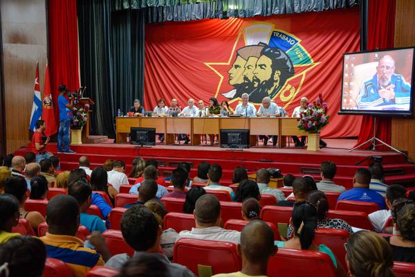 El Comité Nacional de la UJC envió un mensaje de gratitud y amor y una calurosa felicitación a Fidel, cercano ya su cumpleaños 90. (Foto: ACN)