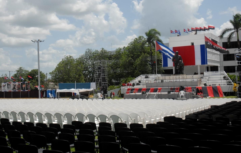 Plaza de la Revolución, Serafín Sánchez, Sancti Spíritus, Sancti Spíritus en 26, Cuba