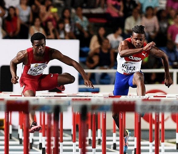 Sancti Spiritus-Yoan Villa-110 hurdles-110 vallas
