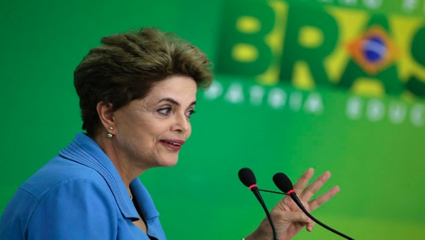 Dilma reiteró que el impeachment en su contra fue planificado para detener las investigaciones por corrupción.