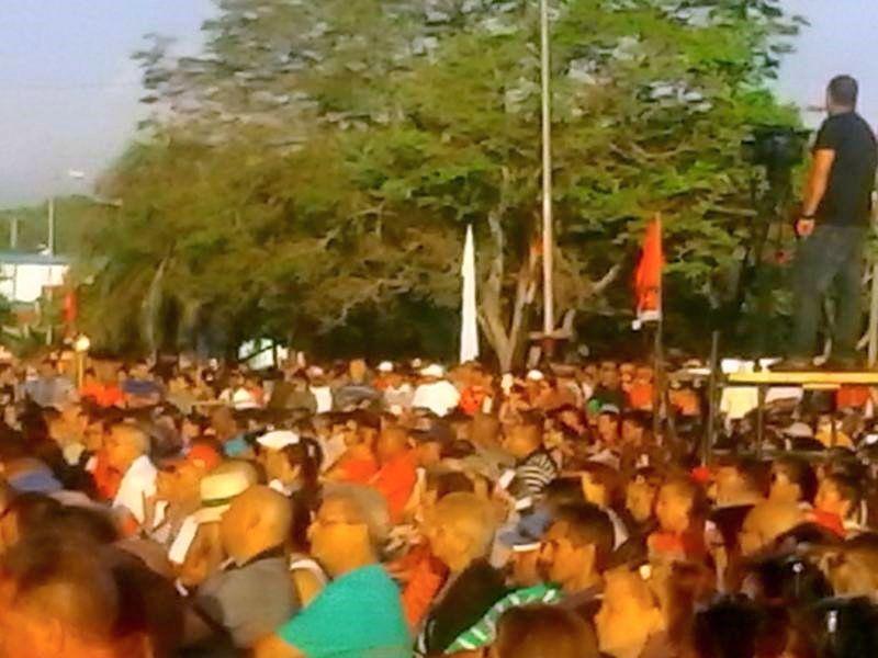 Celebra Fomento el acto provincial por la efeméride del Moncada. (Foto: Mary Romero)