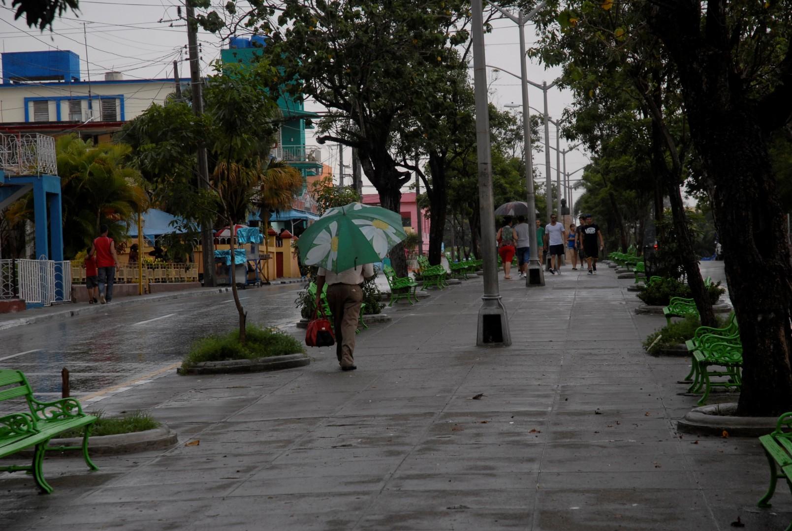 Sancti Spíritus, 26 de Julio, Moncada, lluvia