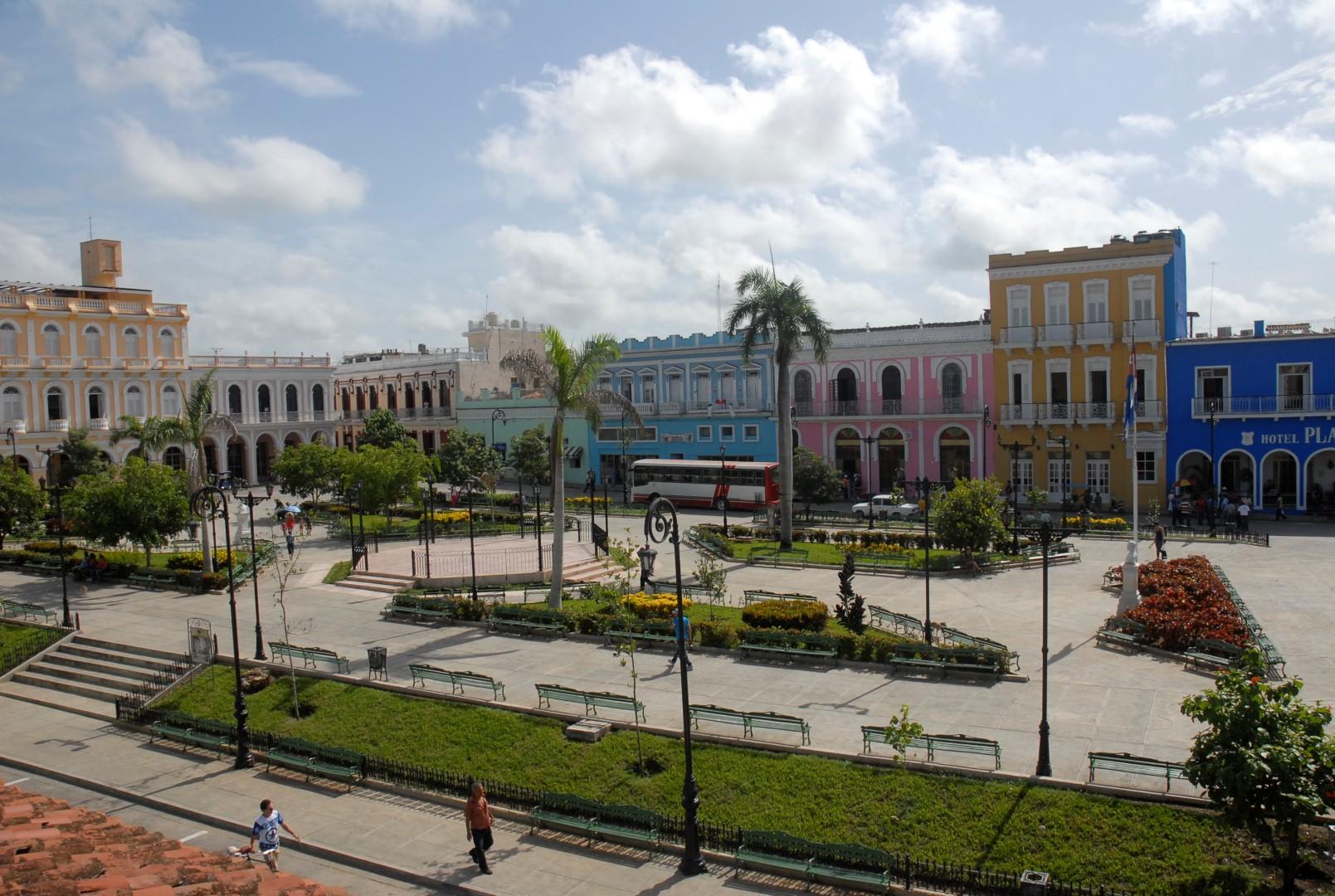 parque Serafín Sánchez, Sancti Spíritus, Sancti Spíritus en 26, Cuba