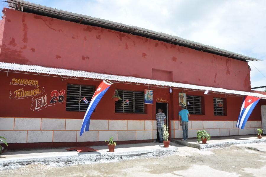 sancti spiritus en 26, obras sociales, taguasco, tuinucu