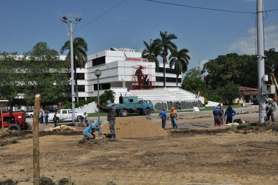 sancti spiritus en 26, plaza de la revolucion, plaza mayor general serafin sanchez valdivia