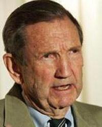 Ramsey Clark. Exfiscal General de Estados Unidos