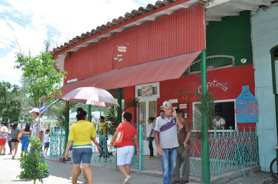 sancti spiritus en 26, zaza del medio, gastronomia, obras sociales, taguasco