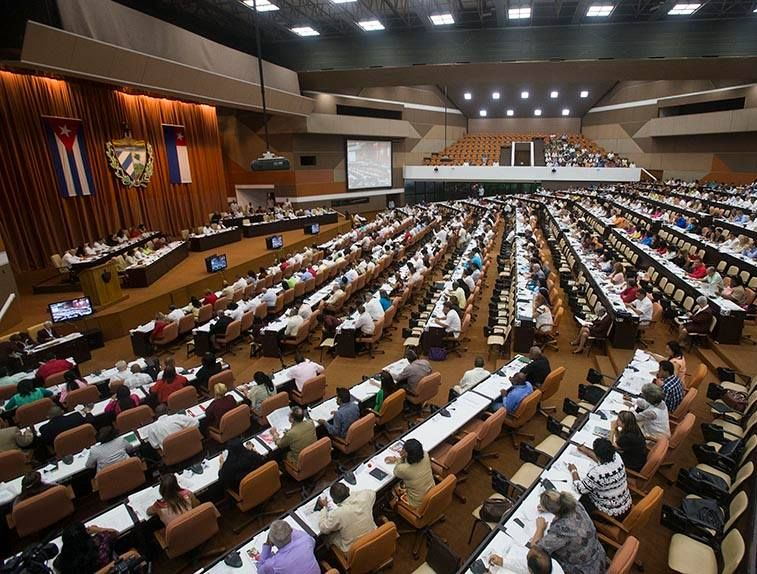 The Cuban Parliament is constituted in its ninth legislature.