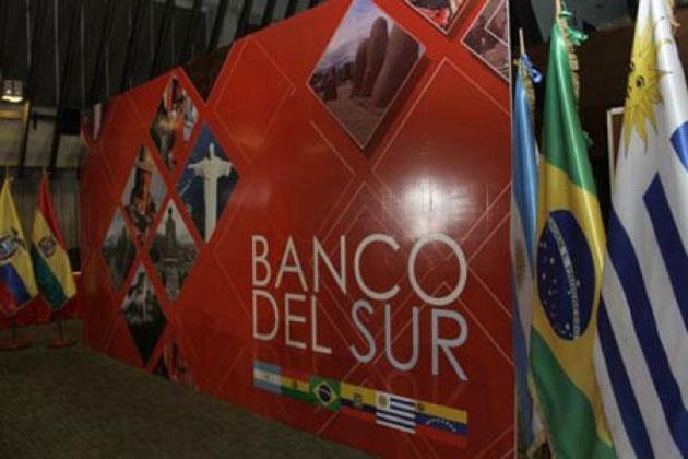 El ente financiero forma parte del proyecto de integración sudamericana.