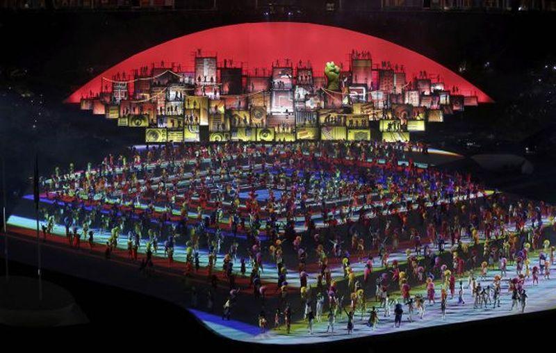 Cerremonia inaugural de los Juegos Olímpicos de Río de Janeiro 2016. (Foto: reuters)